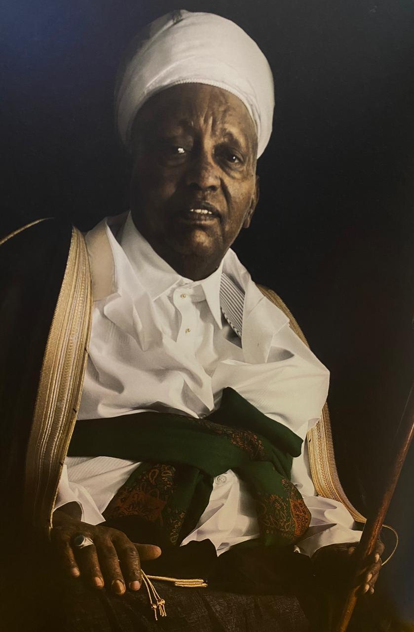 شيخ الأغوات السابق سعيد آدم عمر (المصور عادل القريشي)