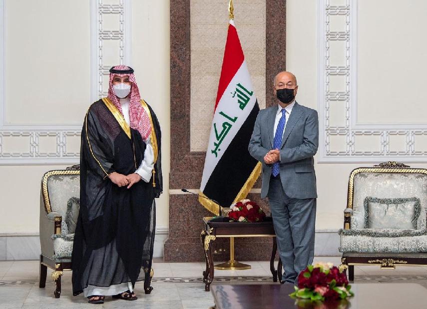 العلاقات بين السعودية والعراق تشهد نمواً مطرداً (اندبندنت عربية).png