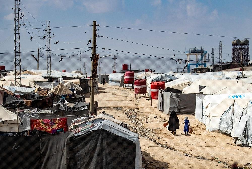 005711618389758422 Al-Hol Camp, Al-Hasakah Governorate, Syria afp.jpg