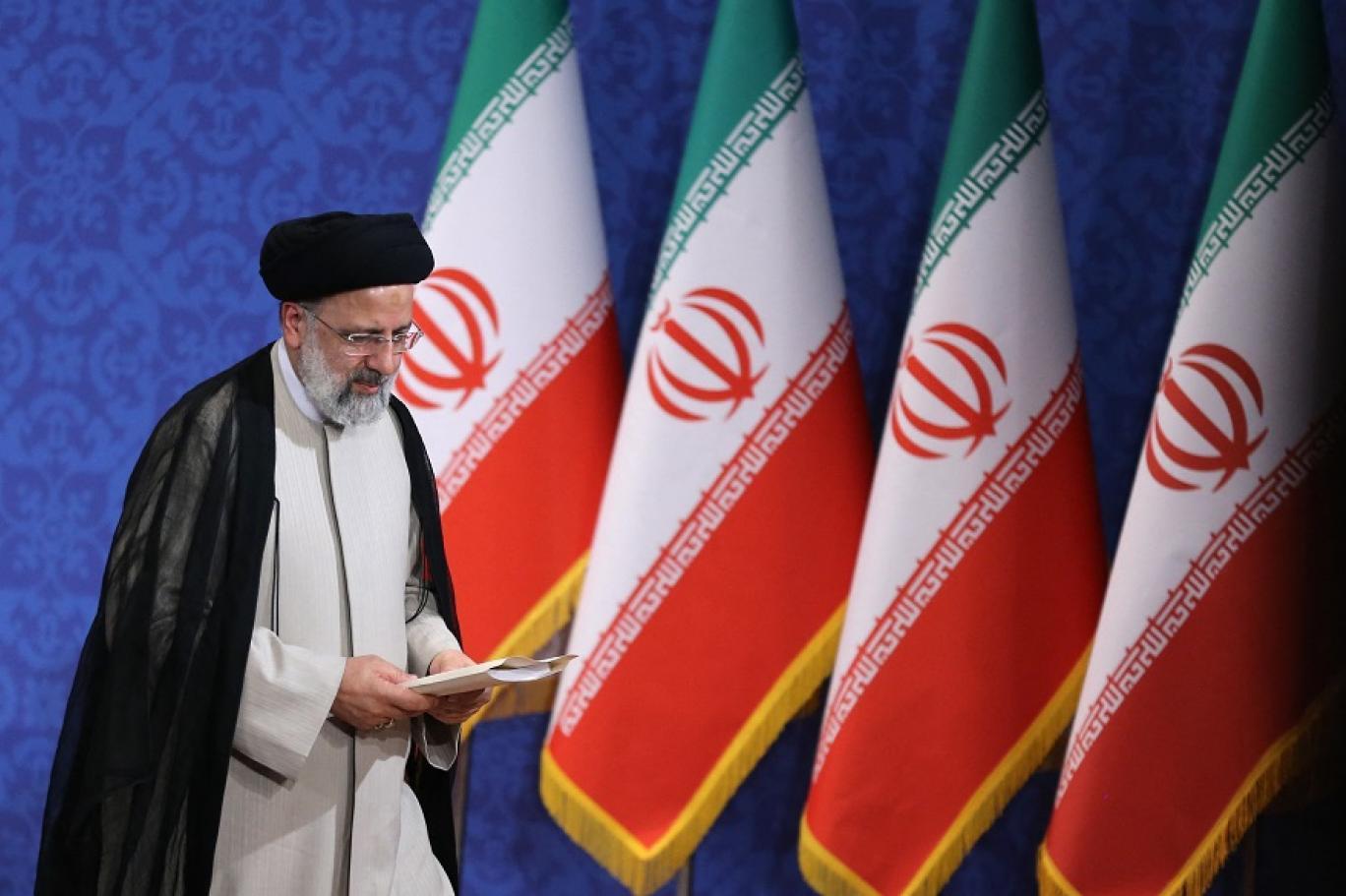 الرئيس الإيراني المنتخب حديثا إبراهيم رئيسي (أ ف ب).jpg