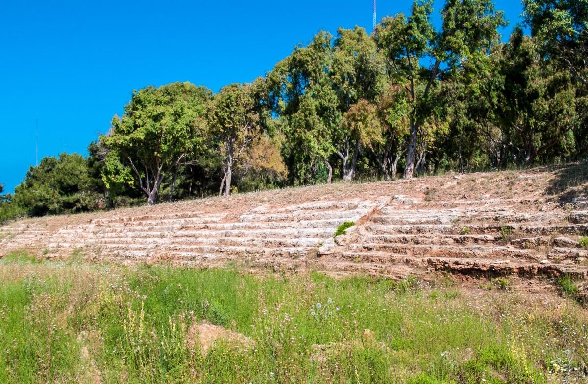 يقدم ملعب عمريت الأولمبي نموذجاً أولياً في دراسة التطور التاريخي للعمارة الداخلية للصالات الرياضية (Syria Photo Guide)