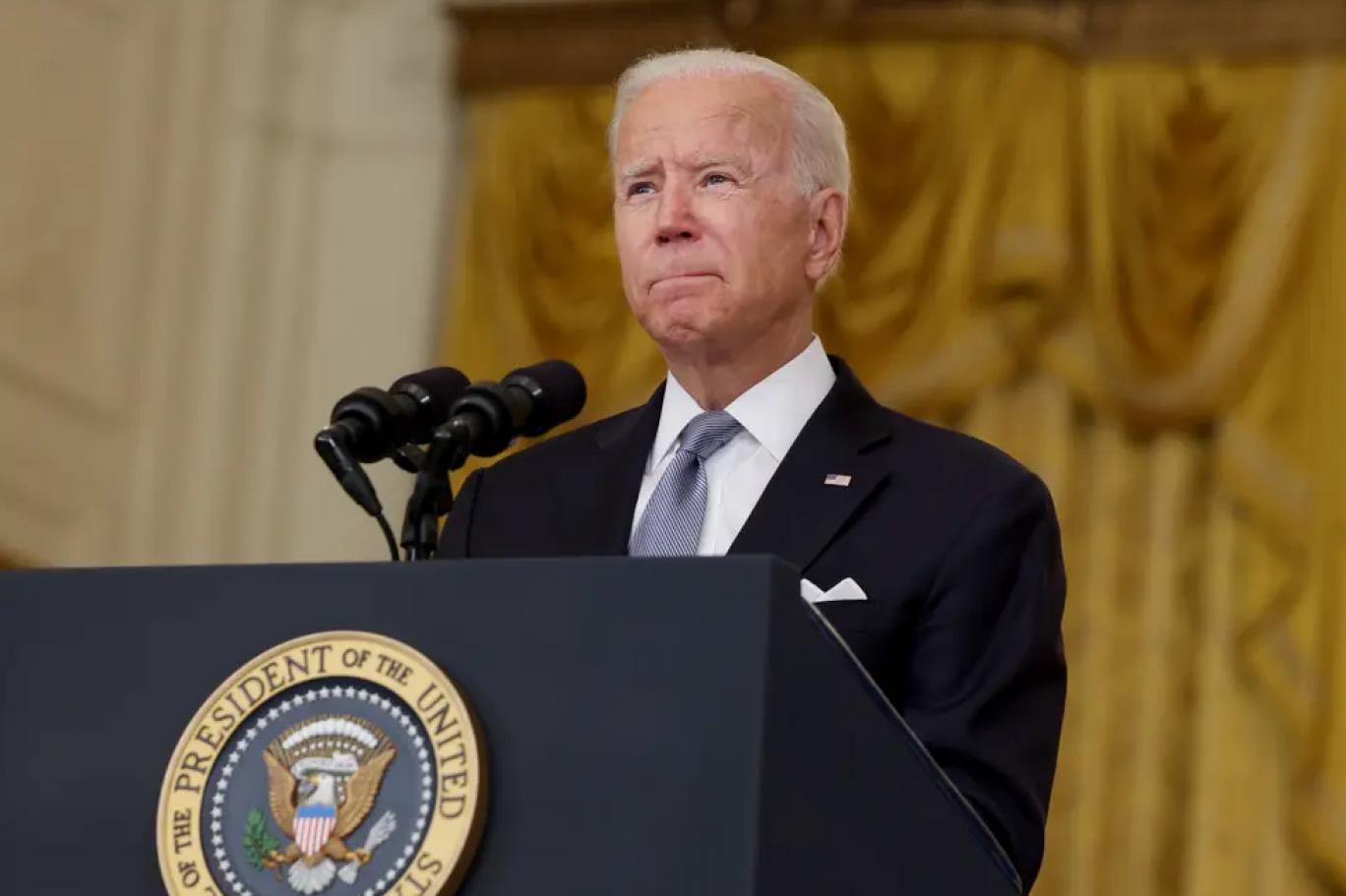 يواجه الرئيس الأميركي جو بايدن انتقادات واسعة من حلفاءه في الداخل (غيتي).png
