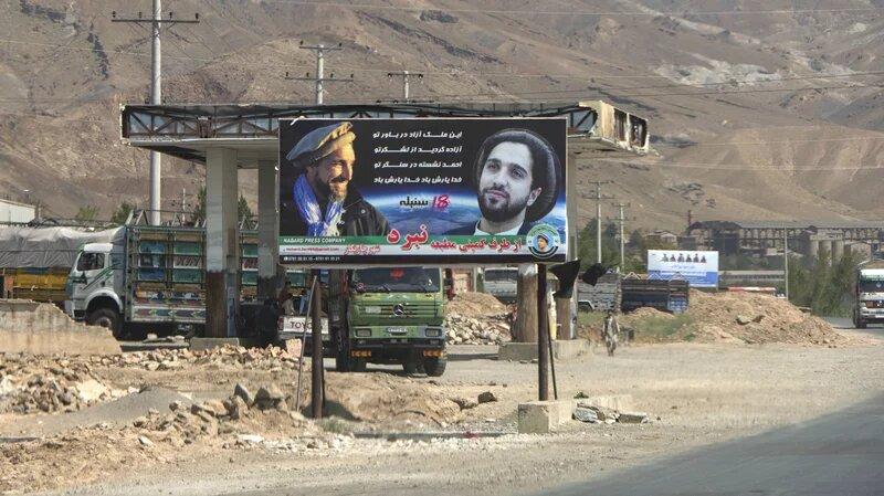 يحاول نجل مسعود قيادة المقاومة في الشمال ضد تمدد طالبان (غيتي)