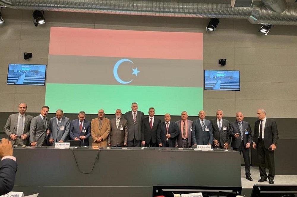تحاول ليبيا طي صفحة عقد من الفوضى أعقب سقوط نظام معمر القذافي في عام 2011 (صفحة بعثة الأمم المتحدة في ليبيا على تويتر).jpg
