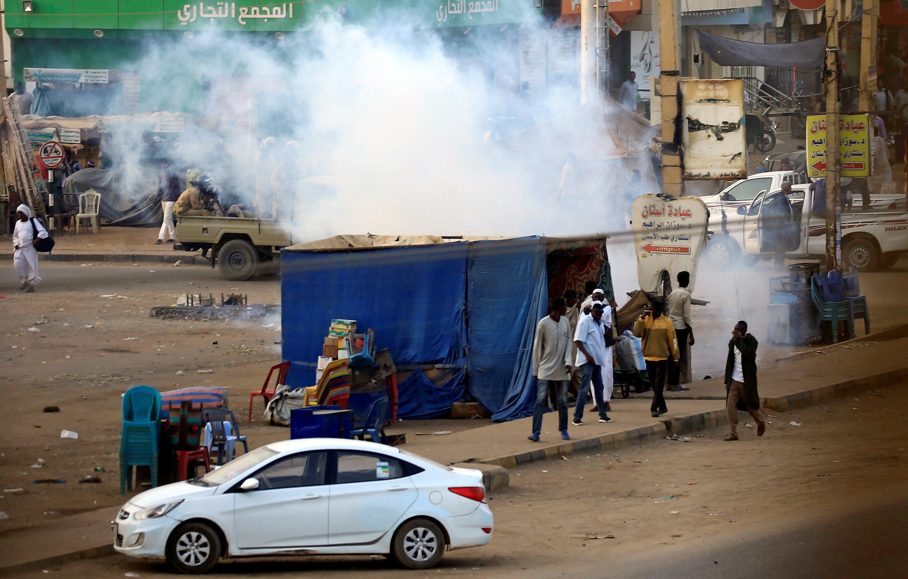 إحتجاجات السودان